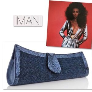 IMAN Global Chic Vintage Glamour Beaded Clutch